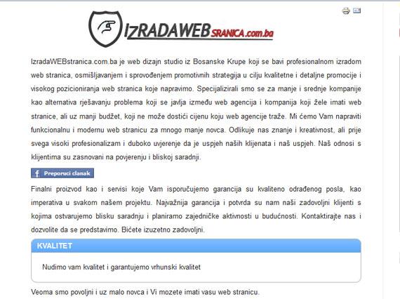 http://www.izradawebstranica.com.ba krađa intelektualnog vlasništva Krađa intelektualnog vlasništva 4